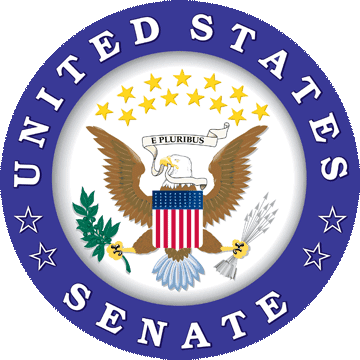 The official Senate seal