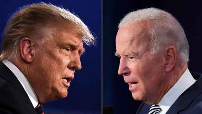 Trum-Biden faceoff